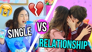 Single VS Relationship! Valentine's Day!!