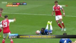 Bungkam Chelsea, Arsenal Juara Piala FA