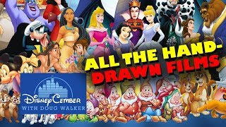 All the Hand-Drawn Films - Disneycember