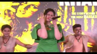 Hate Story 3's HOT And Bold Beauty Zarine Khan Dazzles At VEERAPPAN(2016) Song KHALLAS Launch