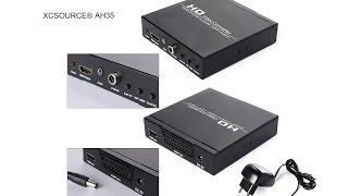 XCSource AH35 HD video converter, Nes, Super Nintendo, Sega Master System, Megadrive, Sony PS1, PS2