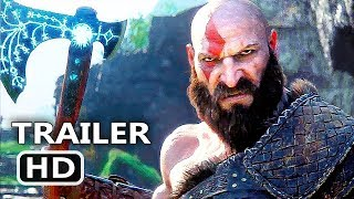 GOD OF WAR 4 Official Final Trailer (2018) Action Game HD