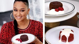 Lava Cake 2 Ways: Red Velvet & Chocolate