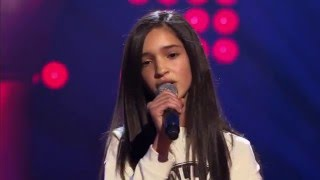 Dina – 'See You Again' | Blind Audition | The Voice Kids | VTM