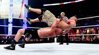 WWE Summerslam 2014 - John Cena vs. Brock Lesnar - WWE World Heavyweight Championship [FULL MATCH]