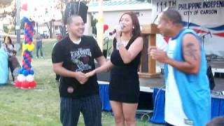 PHILIPPINE INDEPENDENCE DAY 2009, CARSON, CA   w/ VIVA HOT BABE ELLA V.