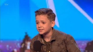 Britain's Got Talent 2018 Calum Courtney 10 Year Old Singing Sensation Full Audition S12E01