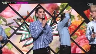 [뮤직뱅크] 3월 4주 1위 GOT7 - 'Look' 세리머니 Cut  20180327