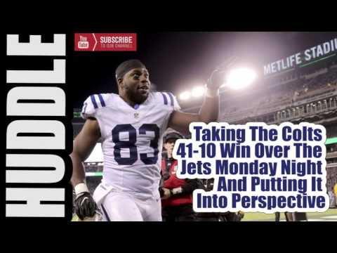 Colts Beat The Jets 41-10 On MNF But Lets Be Real...