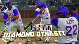 MLB The Show 17 Diamond Dynasty with SGU EP5 Twins Collection Complete & Ranked Season MLB 17