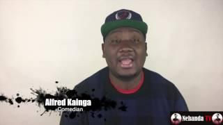Zim comedian Alfred Kainga meets Kevin Hart