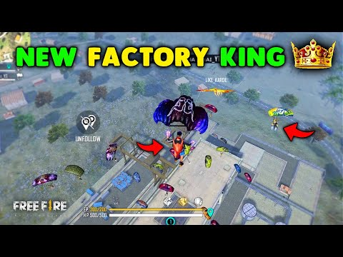 Ajjubhai New FACTORY KING 👑 Only Factory Roof Fist Challenge Garena Free Fire