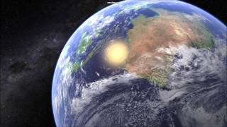 16K Planet Earth Shader for Unity 3D - Flybys Demo #3