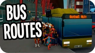 Cities: Skylines Green Cities ▶BUS ROUTES◀ Cities Skylines Green Cities DLC #64