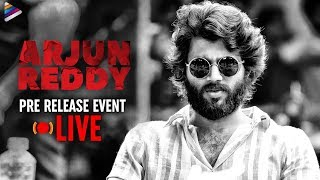 Arjun Reddy Pre Release Full Event | Vijay Deverakonda | Shalini | #ArjunReddy Telugu Movie