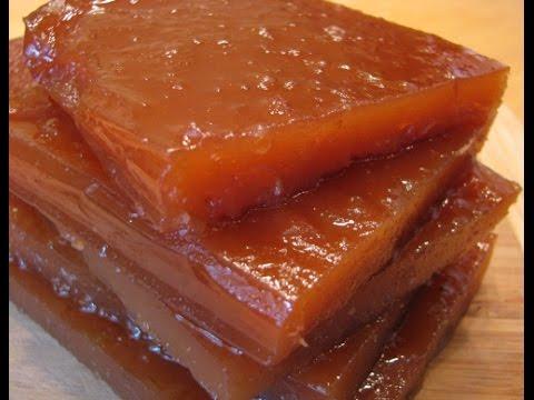 Как приготовить пластовой мармелад из яблок в