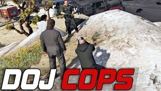 Dept. of Justice Cops #175 - The Chase Down (Criminal)