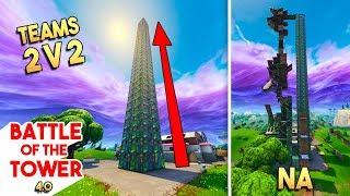 2v2 BATTLE OF THE TOWER 4.0?! - Fortnite Playground (Nederlands)