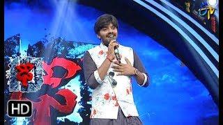 Adiga Adiga Song   Sudigaali Sudheer Performance   Dhee 10   18th October 2017   ETV Telugu