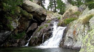 5 Minute Guided Meditation French Prealps Waterfall