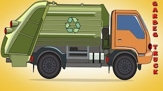 Kids Tv Channel | Garbage Truck | Formation and Uses | Children