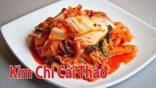 Cách Làm Kim Chi Cải Thảo Thật Đơn Giản Cho Mùa Đông | Góc Bếp Nhỏ