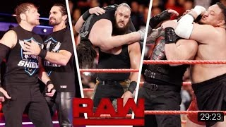 WWE monday night RAW 04/12/17 HIGHLIGHTS FULL SHOW hd