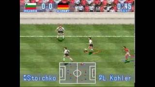 Bulgaria x Germany Quarter Finals World Cup 1994 International Superstar Soccer (Gameplay)