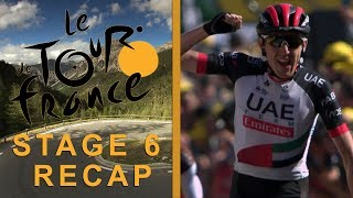 Tour de France 2018: Stage 6 Recap I NBC Sports