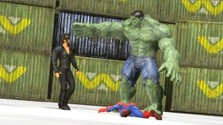 Krrish vs Spiderman part 2 and Hulk bollywood  vs Hollywood 3d Animation indian hero