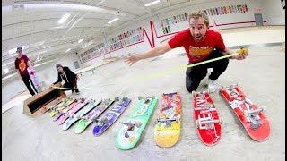 YOU MUST OLLIE EVERY SINGLE SKATEBOARD!