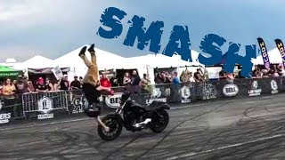 Crazy Motorcycle Crashes & Close Calls 2018