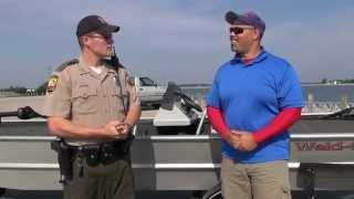 How to fish above ground reservoirs. Van Wert, Ohio