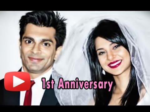 Karan Singh Grover and Jennifer Winget - First Wedding Anniversary Special!