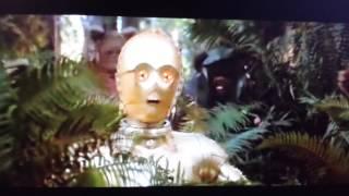 Ewoks Think C3PO is a God