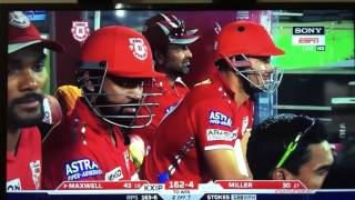 Punjab vs pune ipl last over ! Punjab win by 6 wickets