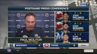 Paul Molitor praises composure of Twins