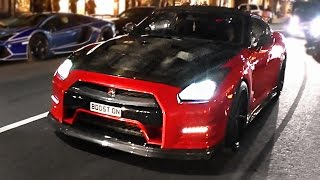 BEST-OF R35 Nissan GT-R compilation 2015!