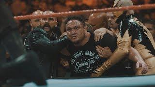 Unseen footage of Roman Reigns, Braun Strowman and Samoa Joe