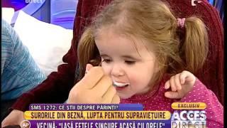 """Simona Gherghe, apel disperat: """"Hai să cumpărăm ceva, acum, să mănânce fetița!"""""""