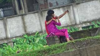 পার্কের ভিডিও।Bangladeshi boys and girl kissing in the Park।Bangla kiss