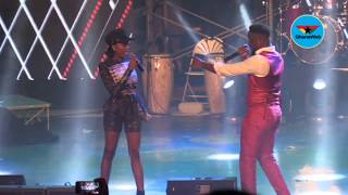 Sarkodie and Efya premiere new song at Rapperholic 2018
