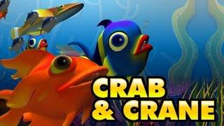 Crane and Crab | malayalam Nursery story | Panchathanthra story from Manchadi (manjadi)