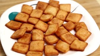 Shakkar Para / Shankarpali - Indian Tea Time Snacks - Sweet Snacks Recipe By Ruchi Bharani
