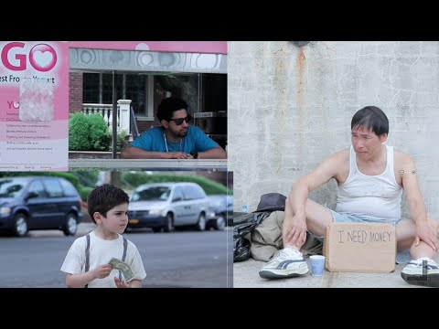 Kids decide between helping the Homeless or Ice Cream
