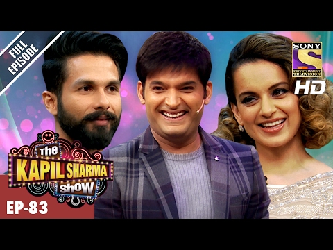 The Kapil Sharma Show दी कपिल शर्मा शो Ep 83 Shahid And Kangana In Kapil s Show –19th Feb 2017