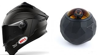 Bell unveils smart HELMET with 360 fly camera integration (2016)