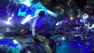 Umberto Vitale @ Rockin'1000 ThatsLive 2016: Verve - BitterSweet Symphony (drummers view)