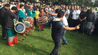 Dhol and Shehnai Ward end park Mela 31-08-14