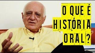 O que é História Oral? Professor Sebe explica